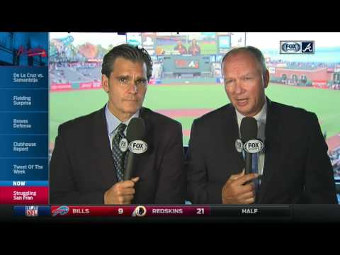 Chip Caray and Joe Simpson on Braves series with Giants