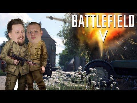 GÖR KAOS MED ETT GÄNG TYSKAR   Battlefield 5 Co-op thumbnail