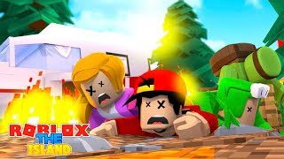 ROBLOX ISLAND SURVIVAL - w/ RoPo, Little Kelly, Little Lizard & Tiny Turtle!!