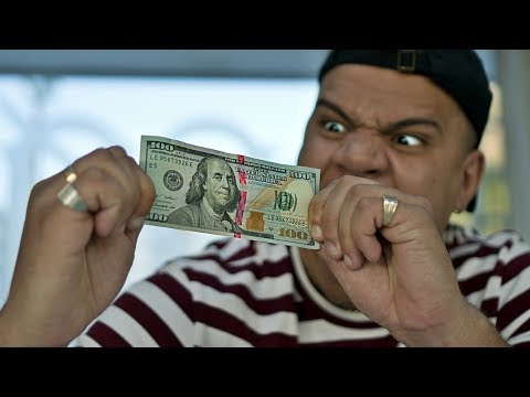 THIS $100 BILL IS UNRIPPABLE!! (IMPOSSIBLE CHALLENGE)