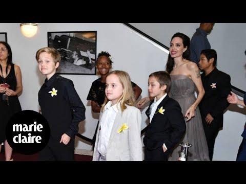 Brad Pitt y Angelina Jolie vuelven a enfrentarse por sus hijos