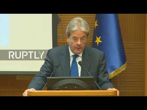 Italy: Gentiloni says Italy will use G7 presidency to improve ties with Russia