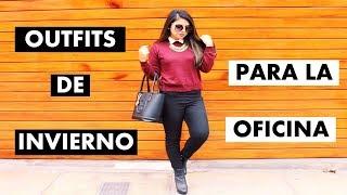 OUTFITS DE INVIERNO PARA LA OFICINA/ EL TRABAJO ♥