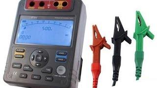 Мегаомметр UT512 UNI-T. Как измерить сопротивление изоляции кабеля. Видео от Electronoff.(Среди цифровых измерительных приборов, отдельное место занимают мегаоометры. Мегаомметр UT512 UNI-T может изме..., 2015-08-03T09:51:32.000Z)