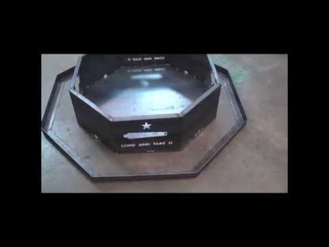 You Weld It customizable fire pit & grill build & review.