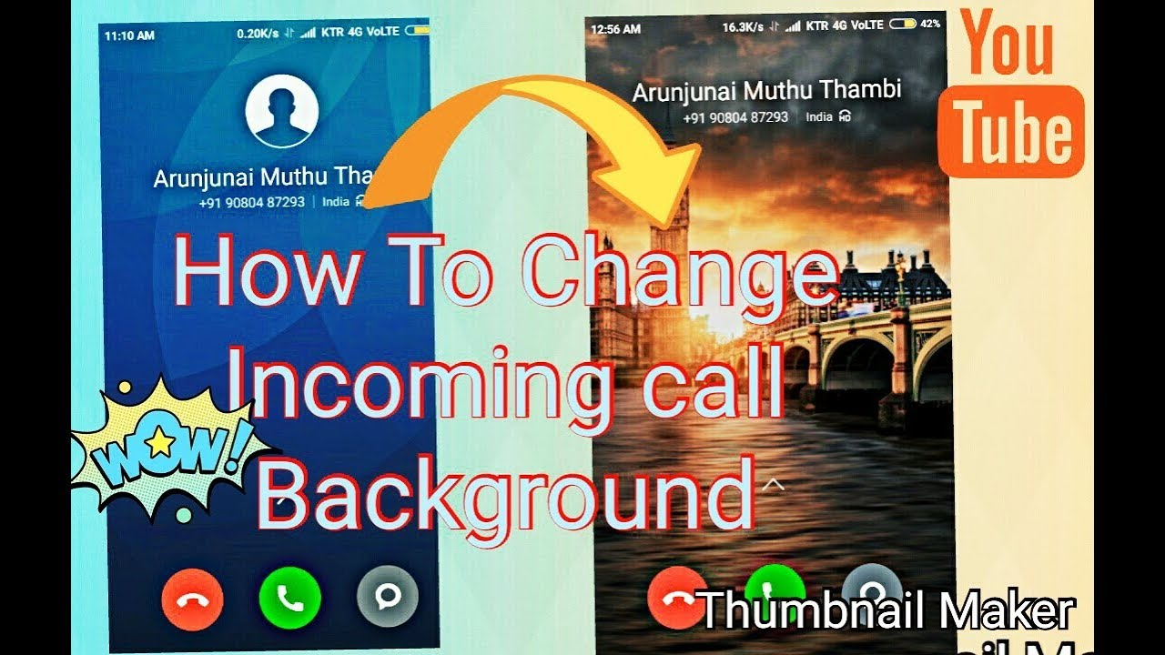 How To Change Call Screen Background Wallpaper | IN Any Xiaomi Redmi Device