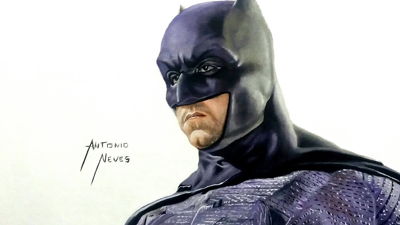 Como Desenhar O Batman Realista How To Draw The Realist Batman