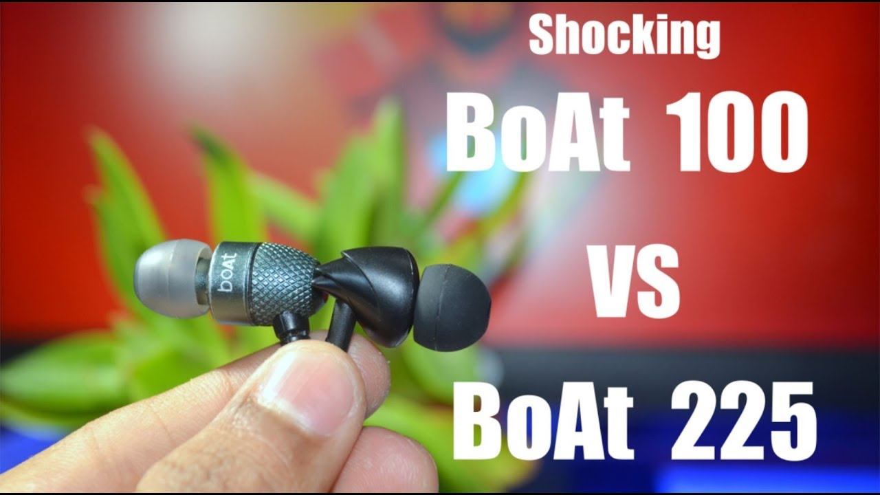 7c2182693ef Boat Bassheads 100 Unboxing and Review & Bassheads 225 Vs Bassheads 100🔥