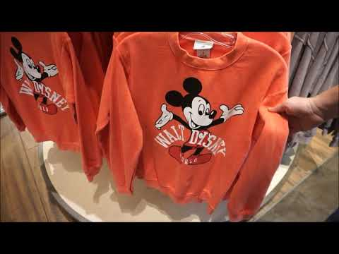 Vlog: New Merchandise at World of Disney and TrenD at Disney Springs!