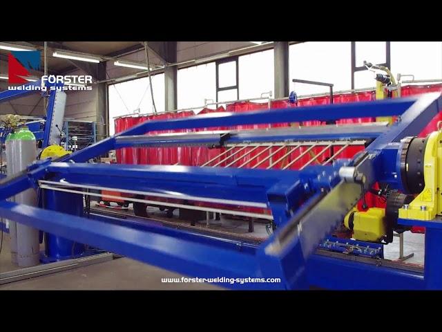 Edelstahl Geländer mit Roboter schweißen