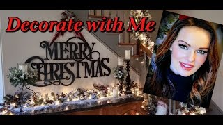 Decorate with Me for Christmas! Upstairs Hall, Landing & Foyer