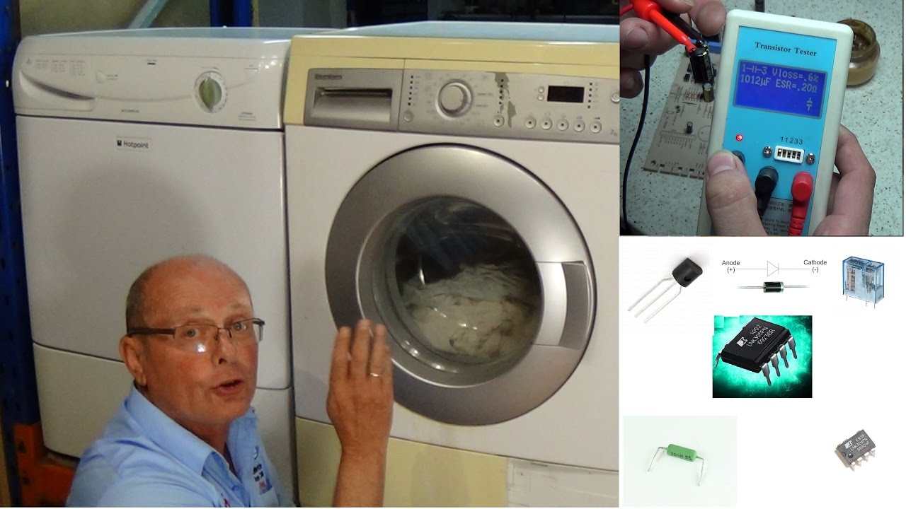 Washing Machine Starts Then Stops Or Turns Off Smeg Dishwasher Printed Circuit Board Pcb