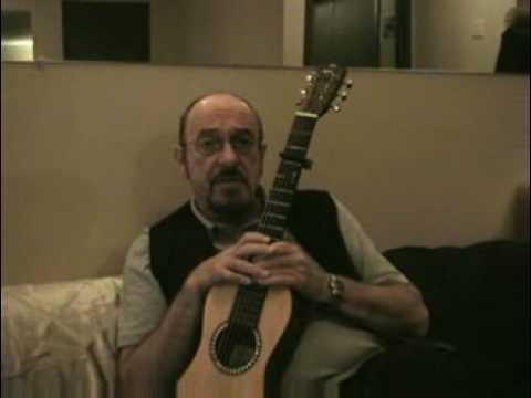Ian Anderson Of Jethro Tull On Playing Guitar