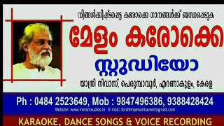 MAHAGANAPATHIM SONG KARTHIK VERSION KARAOKE WITH LYRICS MELAM KARAOKE STUDIO 9847496386