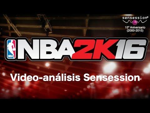 NBA 2K16 Análisis Sensession