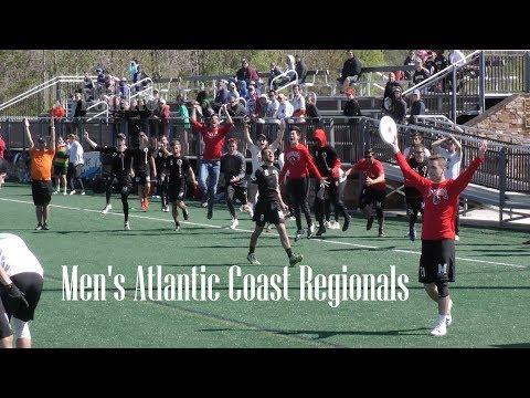2018 Men's D-1 Atlantic Coast College Regionals Highlights