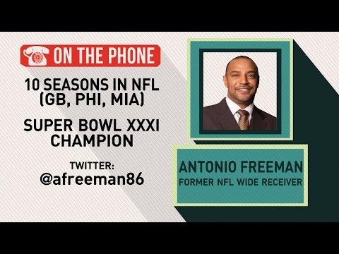 Gottlieb: Antonio Freeman talks Packers