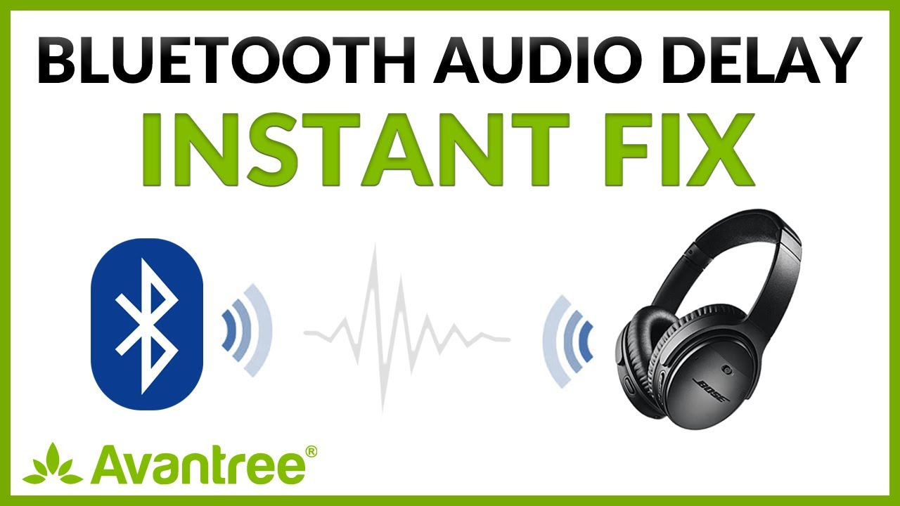 How to FIX Audio Delay INSTANTLY when using Bluetooth headphones to Watch  TV / Videos