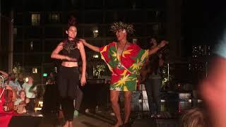 Taimane Gardner & Palepa Gardner LIVE at Hyatt Centric in Waikiki, Honolulu, HI