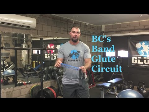 BC's Band Glute Circuit