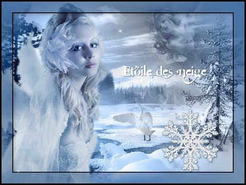 Etoile des neiges youtube - Dessin etoile des neiges ...