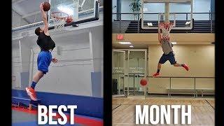 5'7 Dunker - Fastest Month of Dunk Progress Video