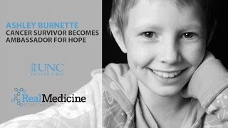 Cancer Survivor Becomes Ambassador for Hope