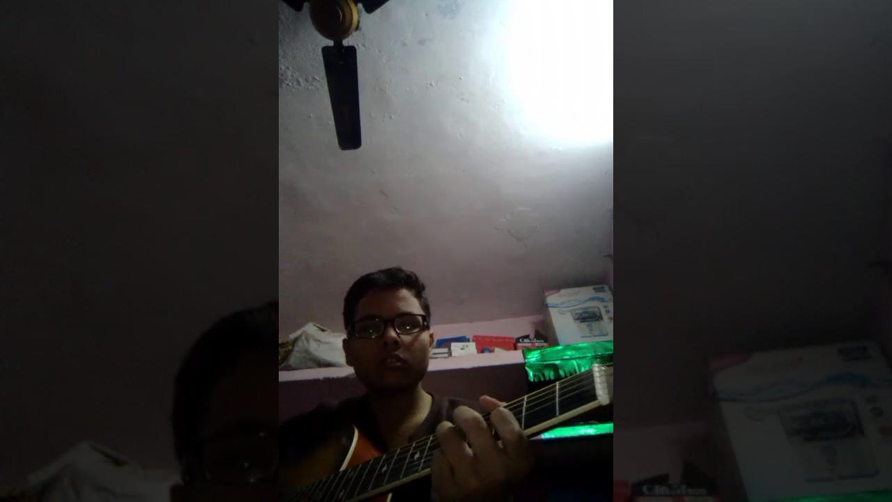 Kabhi Jo Badal barse song Guitar tabs - YouTube