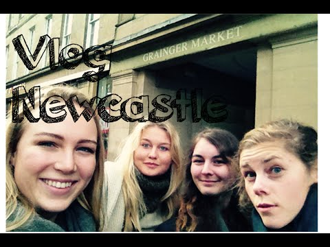 Vlog Studytrip to Newcastle!