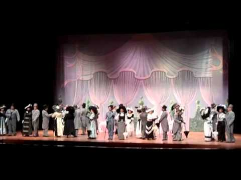 "Ascot Gavotte Baytown Little Theater ""My Fair Lady"""