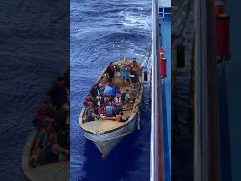 Pitcairn Islanders Board Oceania Marina