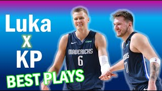 Luka Doncic & Kristaps Porzingis Connection - Duo Highlights