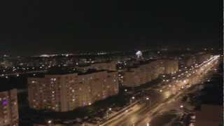 Салют на новый год в Гродно 2013 - Новый Вишневец