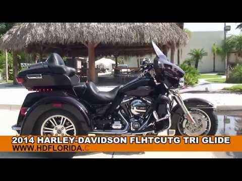 2014 Harley Davidson Three Wheeler Trike Motorcycles for sale *