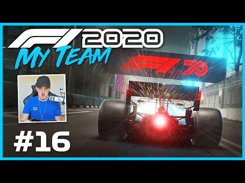 F1 2020 My Team Part 16: MAKING F1 HISTORY 👀😳 (110 AI Singapore GP)