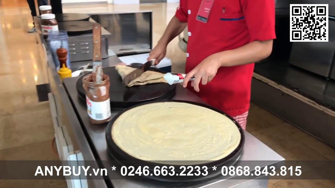 Học làm bánh Crepe kiểu của Pháp và bánh Kếp Thái Lan