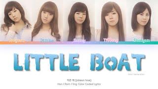 Girls' Generation (소녀시대)  Little Boat (작은 배) Color Coded Lyr…