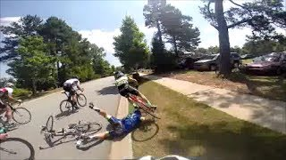HUGE CRASH 2014 SC State Criterium