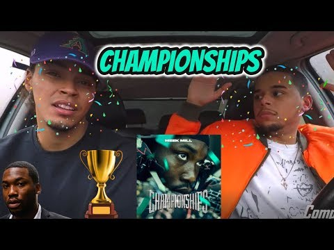 MEEK MILL - CHAMPIONSHIPS   REACTION REVIEW