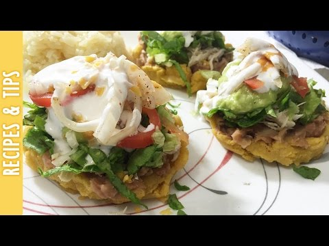 RECIPE: Mexican Sopes With Beans, Cheese and More