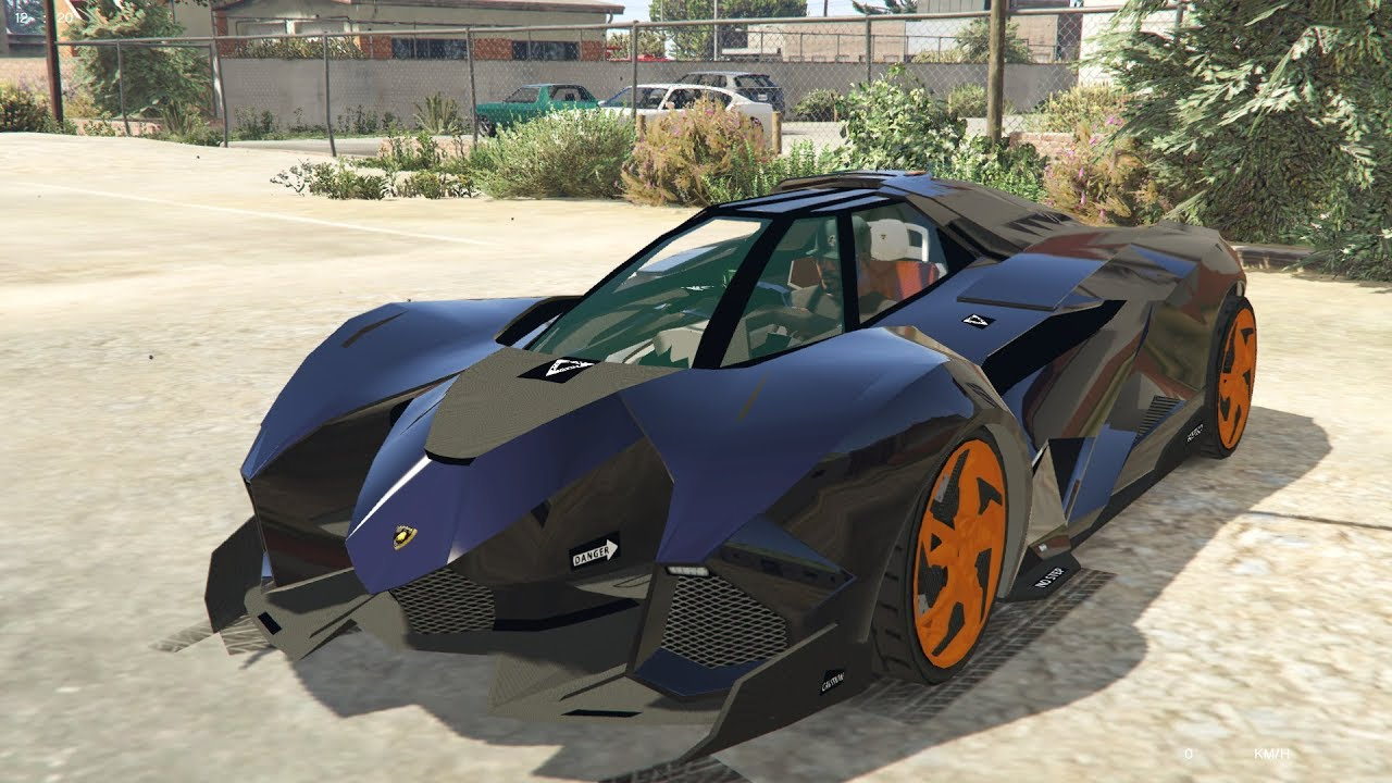 Gta 5 Lamborghini Egoista Youtube