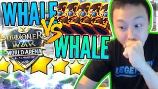 WHALE SWC Pack Wars! Battle Of LUCK?! - Summons / Lightnings / RTA ACTION! #1 - Summoners War