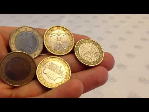 5 Farklı Ülkeye Ait 1 Euro