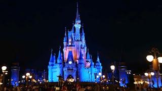 Magic Kingdom FULL Walking Tour w/ Rides At Night - Filmed in 4K | Walt Disney World Florida 2021