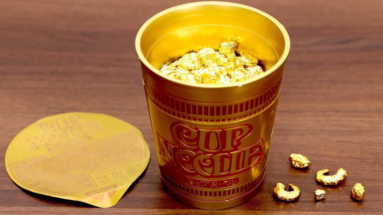 【中編】金のカップヌードルを作る Golden Cup Noodles Plastic Model Kit. Japanese instant ramen Nissin