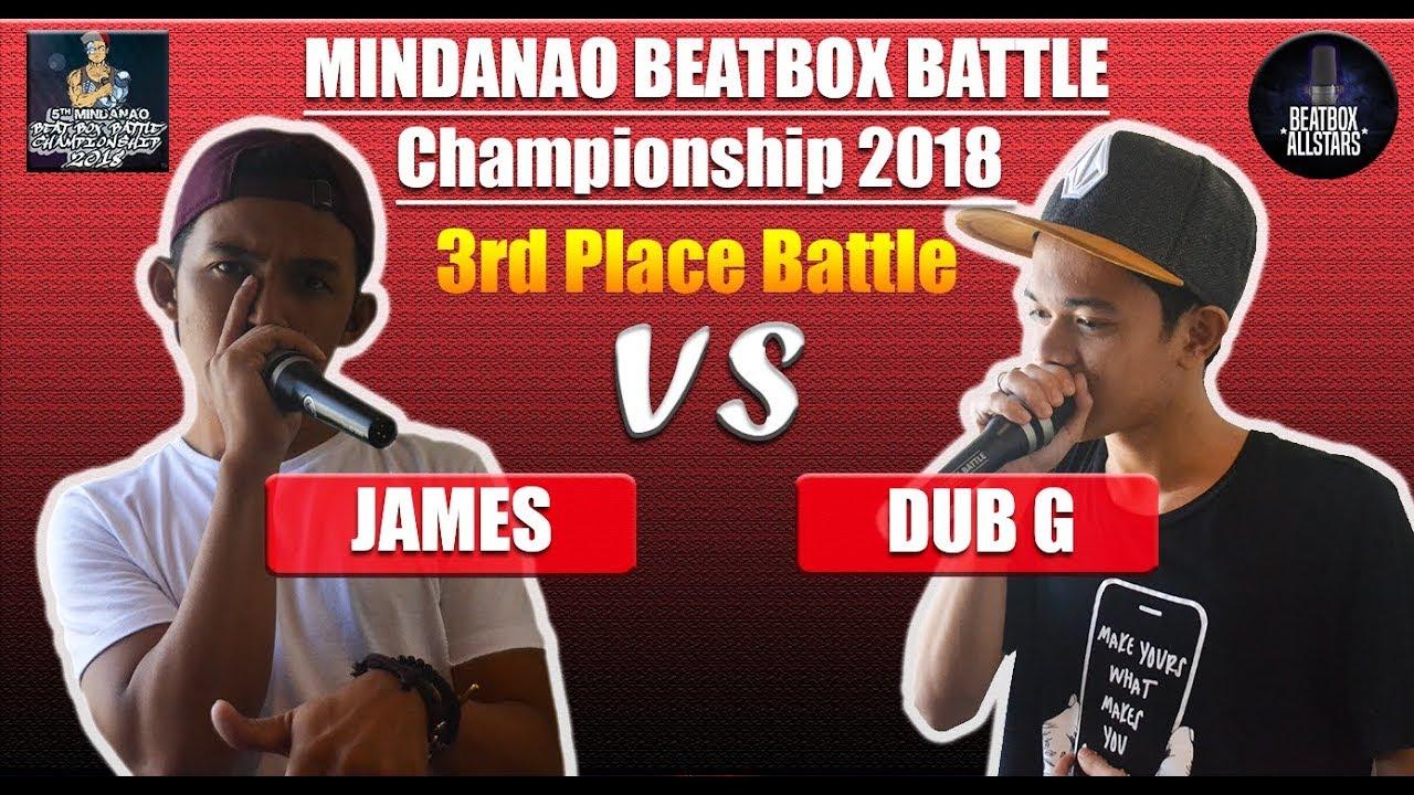 JAMES vs DUB G   MBBC 2018   3RD PLACE BATTLE