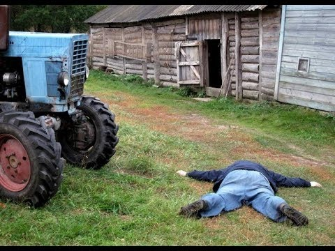 Прикол с трактористом -