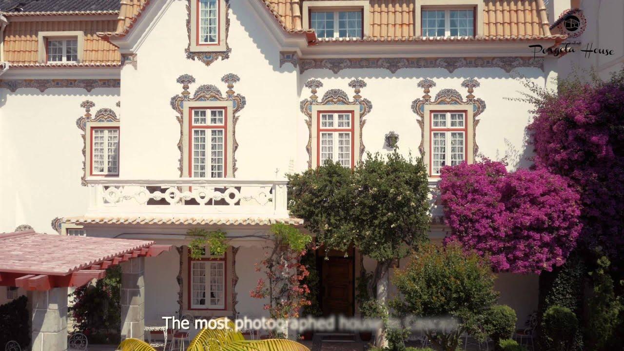 pergola house b b cascais portugal english youtube. Black Bedroom Furniture Sets. Home Design Ideas