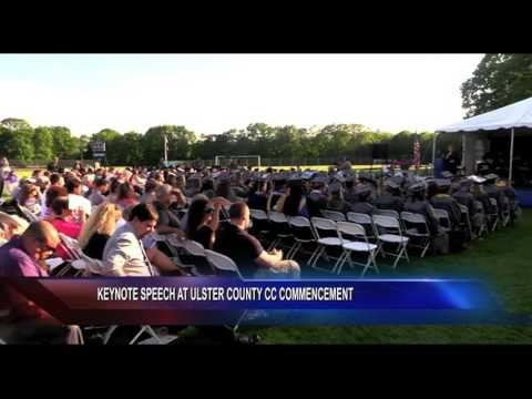 Keynote Speech at Ulster County Community College Commencement