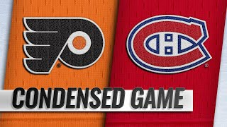 01/19/19 Condensed Game: Flyers @ Canadiens